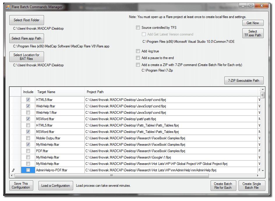 Batch File Commands