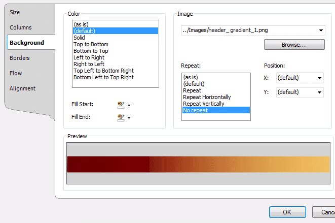 Using Multiple Decoration Frames in a Page Layout